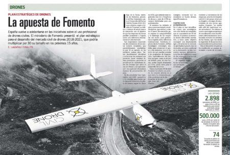 España fue pionera en tener una normativa para el uso comercial drones. Ahora lo es también al marcar una hoja de ruta para el futuro de estos nuevos medios aéreos.