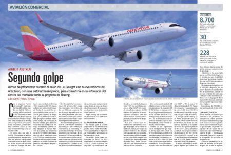 Iberia está entre las primeras aerolíneas que incorporarán el Airbus A321XLR a su flota.