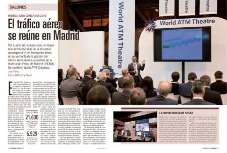 El World ATM Congress se celebra en IFEMA, Madrid, del 8 al 10 de marzo.