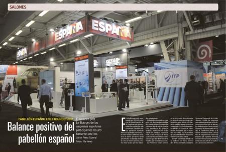 Un año más las empresas españolas presentes en Le Bourget han dado una excelente nota a los resultados obtenidos en el mismo.