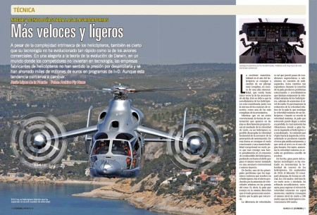 Los futuros helicópteros combinarán los rotores de sustentación con hélices para volar más rápido.