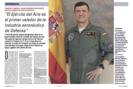 El general Bengoechea es el encargado de pilota la importantísima relación entra la fuerza aérea española y la industria aeronáutica española.