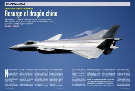 Mientras en Europa y EE.UU. se acaban los aviones de combate, China, y en menor medida Rusia, están en pleno boom del segmento.