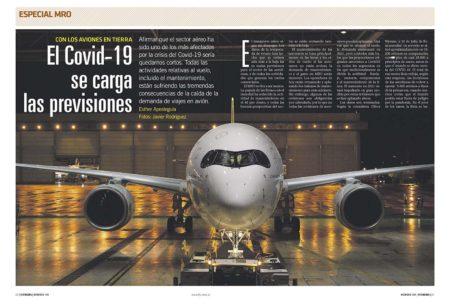El mantenimiento también sufre los efectos del COVID-19.