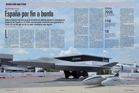 Airbus y Dassault han presentado el que podría ser aspecto del caza del FCAS en Le Bourget.