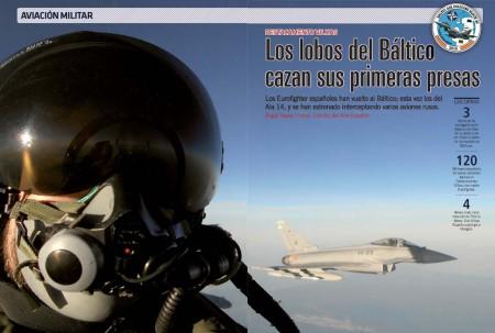 Los Eurofighter del Ala 14 han interceptado ya dos aviones rusos no identificados sobre el Báltico.