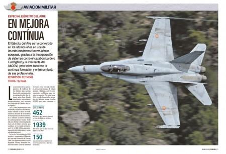Repasamos las diferentes unidades y aeronaves del Ejército del Aire español.