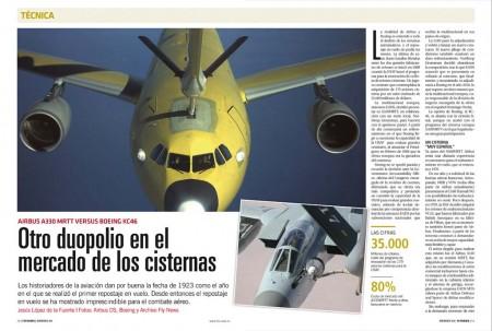 El A330 MRTT revolucionó el mercado de los aviones cisterna, obligando a Boeing a lanzar un nuevo programa, el KC-46.