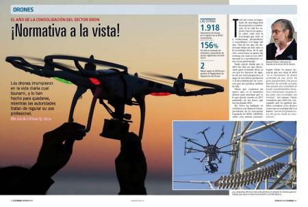 El sector de los drones ha llegado para quedarse y hacer competencia low cost a las compañías tradicionales de trabajos aéreos.
