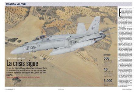 El Ejército del Aire pide a los políticos su apoyo para poder llevar a cabo la modernización que precisa.