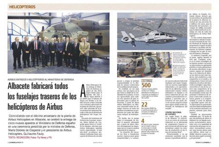 Airbus Helicopters hizo entrega de nuevos aparatos al Ministerio de Defensa, acto que aprovechó para anunciar novedades para Albacete.