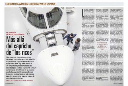 Buenas señales para el futuro de la aviaicon corporativa española .