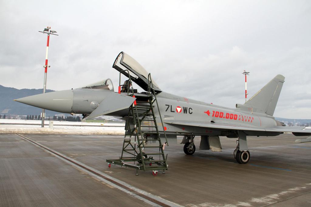 Eurofighter de la Fuerza Aérea de Austria