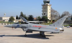 Eurofighter del Ala 11 del Ejército del Aire español