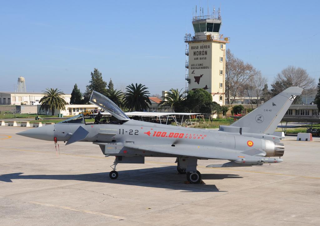 Eurofighter del Ejército del Aire español