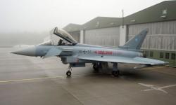 Eurofighter del Ala de Caza 73 de la Fuerza Aérea de Alemania
