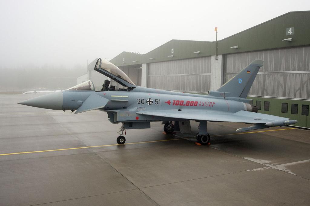 Eurofighter de la Fuerza Aérea de Alemania