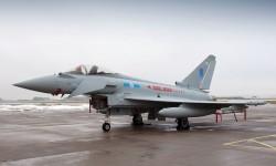 Eurofighter del Escuadrón número 6 de la RAF
