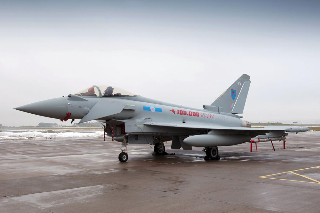 Eurofighter de la Fuerza Aérea del Reino Unido