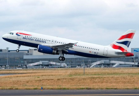 Airbus A320 número 100 de British Airways