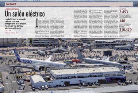 Le Bourget este año ha tenido dos claros protagonistas, pero la aviación eléctrica también ha destacado.