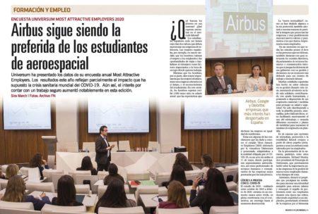 Un año más los estudiantes universitarios explican cuales son las empresas en las que preferirían trabajar en España.