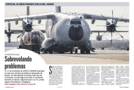 El Airbus A400M ha logrado sobrevivir a cambios políticos, problemas técnicos y un accidente.