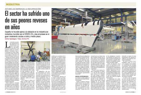 El optimismo es el principal mensaje de la induatria aeronáutica española.