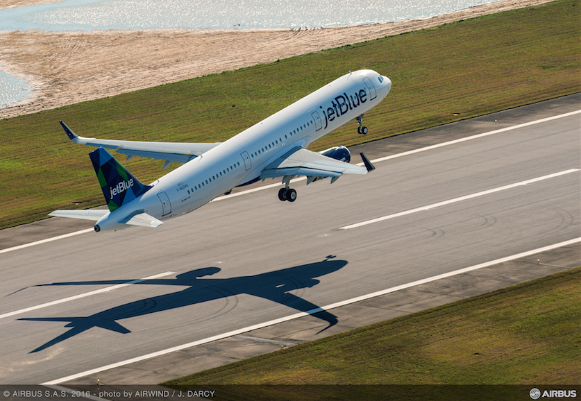 En marzo de 2016 voló el primer A321 ensamblado en Mobile, Estados Unidos, todo un hito para el fabricante europeo.