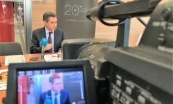 El Director General de AERTEC Solutions, Antonio Gómez-Guillamón, durante la presentación de los datos de 2016.