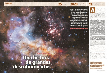 El Hubble nació miope, pero las gafas que le pusieron nos ha permitido disfrutar de algunas de las mas espectaculares imágenes del espacio.