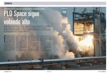 PLD Space se ha colocado entre el pequeño grupo de empresas con capacidad para lanzar un cohete reutilizable.