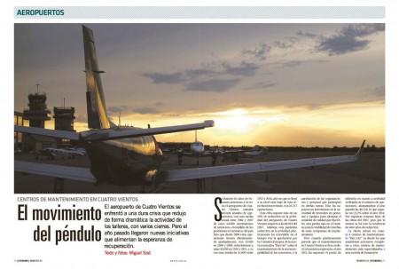 La recuperación económica llega al sector de la aviación privada y deportiva.