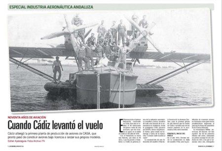 El CASA Dornier Super Wal Numancia fue el primer avión andaluz.