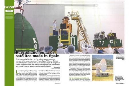 La empresa española Elecnor Deimos ofrece un servicio completo de satélites de observación: diseño, integración y operación.