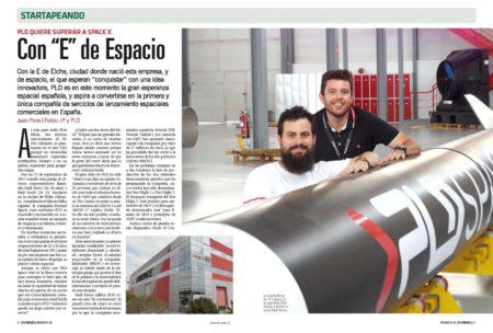 PLD tiene su sede en Elche y su campo de pruebas en el aeropuerto de Teruel.