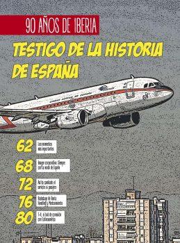 El 14 de diciembre se cumplen 90 años del primer vuelo de Iberia.