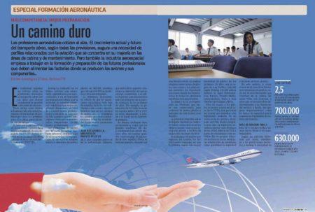 El mercado aeronáutico demanda cada vez más profesionales.