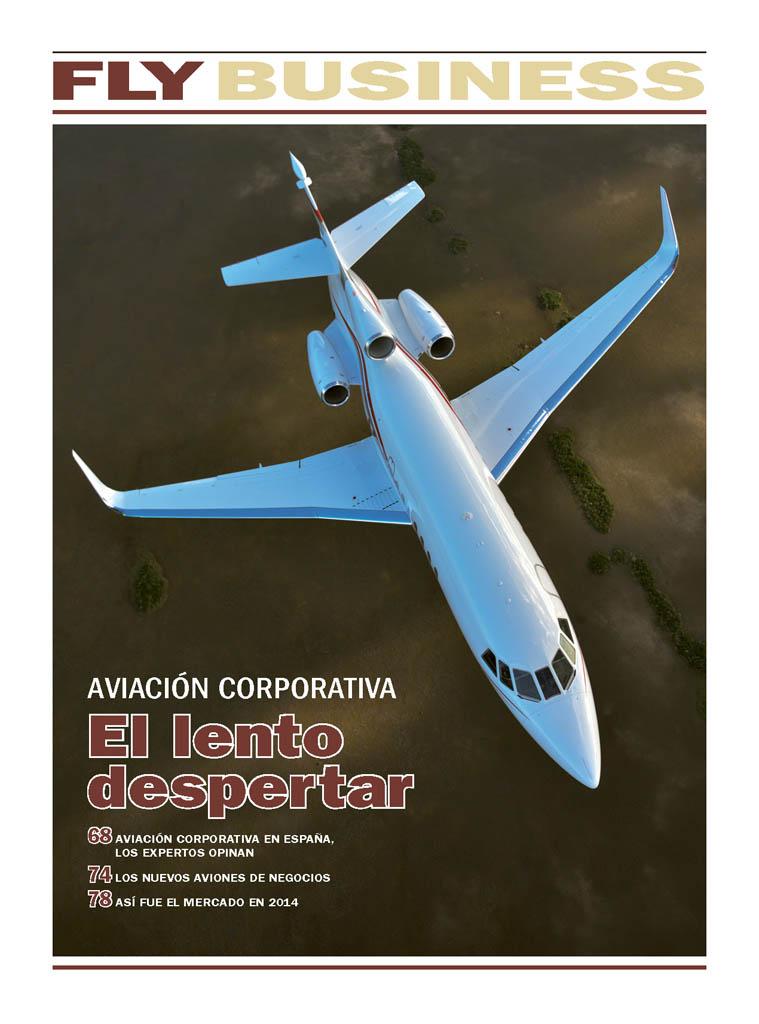 La aviación corporativa española sigue sin recuperarse mientras que en el resto del mundo el crecimiento ya es claro.