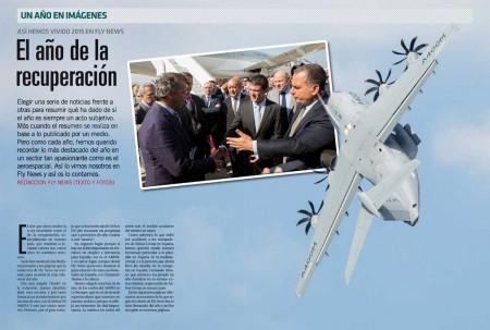 Sin duda el accidente del A400M en Sevilla fue uno de los acontecimientos aeronáuticos que han marcado 2015.