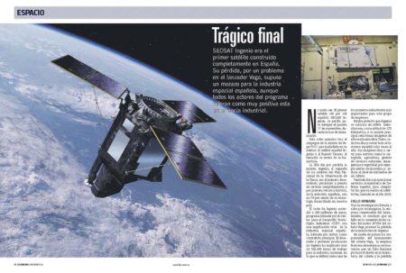 Un fallo humano en la instalación de unos cables causó el fallo del cohete Vega en el que volaba el satélite español Ingenio.