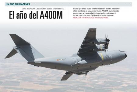 El A400M ha marcado el año en España por sus problemas.