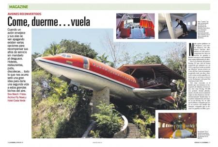 En Costa Rica podremos elegir entre dormir en un Boeing 727 o en un McDonnell Douglas MD-80.