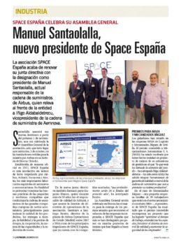 Space España cuenta ya con 34 empresas asociadas y varias más están negociando su entrada en esta asociación.