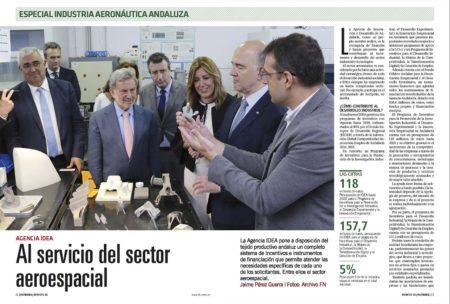 Por cada 100 euros que se invierten en I+D aeroespacial se logra un retorno de más de 700.