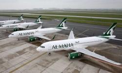 Primeros cuatro A320 con la nueva librea de Al Maha Airways