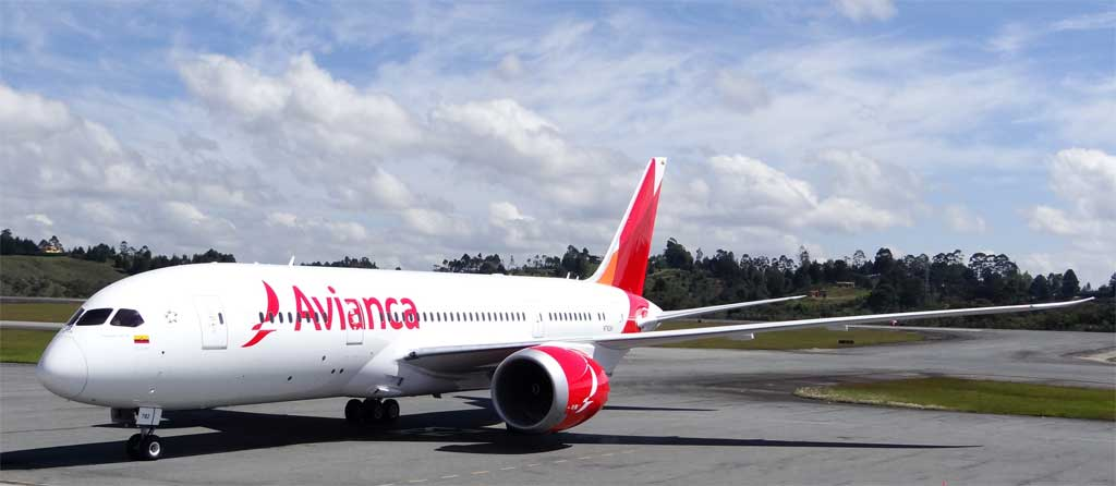 Avianca ha estrenado su B-787 en la ruta Bogotá-Nueva York