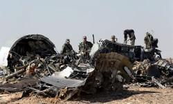 Imagen de los restos de del avión Metrojet Airbus A321. Fuente: Europapress