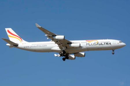 Tras varios años de gestación y numerosos problemas, Plus Ultra comienza sus operaciones regulares en mayo.