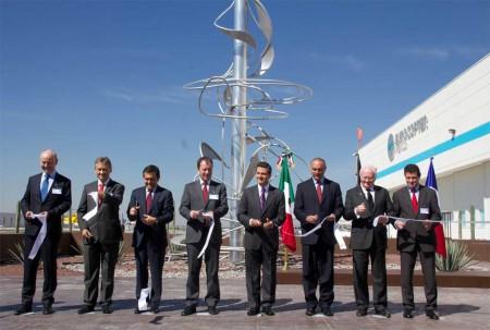 Eurocopter ha inaugurado una nueva planta en México
